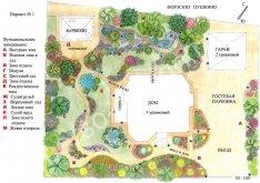 Cпланировать участок загородного дома 10, 12, 15 и 30 соток: фото