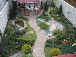 Дизайн маленького дачного участка - Ландшафтный дизайн маленького