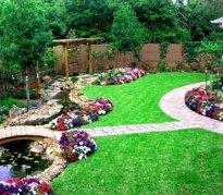 Фото красивый ландшафтный дизайн - Красивый ландшафтный дизайн в