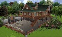 Ландшафтный 3d дизайн - Ландшафтный дизайн. Проектирование. 3D Progect