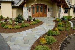 Ландшафтный дизайн дачного участка: ТОП-50 фото двора у