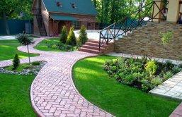 Ландшафтный дизайн на небольшом участке - Дизайн маленького