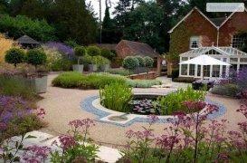 Ландшафтный дизайн участка 15 соток: фото схемы с домом