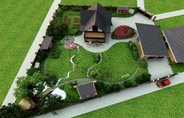 Примеры ландшафтного дизайна своими руками: фото участка